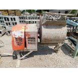 M/Q Whiteman Model WM-90 Gas-Powered Mortar Mixer, SN CD757254, Honda Gas Engine