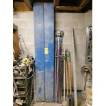 Concrete Sanding Tools, Post Hole Digger, Shovel