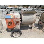 M/Q Whiteman Model WM-90 Gas-Powered Mortar Mixer, SN CD757246, Honda Gas Engine