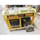 Titan Industrial High Performance 7000 Gas-Powered Generator