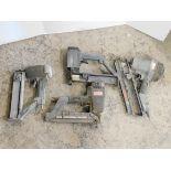 (4) SENCO Nail Guns
