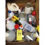 Miscellaneous Lubricants, Paint and Cleaners