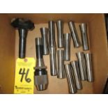 R-8 Collets, R-8 Drill Chuck, and R-8 Carbide Insert Milling Cutter