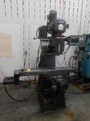 "Lagun Model FTV-2 CNC Knee Mill, SN SE-39579 with Proto Trak M3 CNC Control, 30 Taper Spindle, 10"" x"