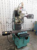 """SWI Sport B3 CNC Bed Mill, SN 99-0500 with Proto Trak M3 CNC Control, 10"""" x 50"""" Table, 40 Taper"""