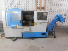 """Supermax Model YCM-TC-15 CNC Turning Center, SN 025028, with Fanuc Series O-T CNC Control, 8"""" 3-"""