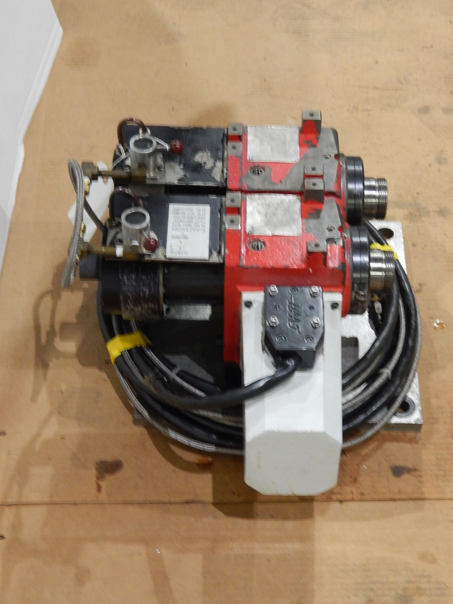 Haas HA5C-2 CNC Indexer, s/n 700130B, (2) 5C Programmable Spindles - Image 5 of 6
