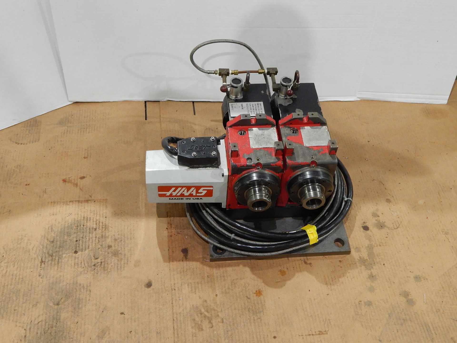 Haas HA5C-2 CNC Indexer, s/n 700130B, (2) 5C Programmable Spindles - Image 2 of 6