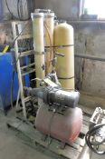 Flotec Pump and Bladder Tank with Reverse Osmosis System on (1) Pallet