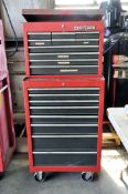 Craftsman 2-Piece Rolling Tool Chest
