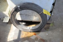 "Partial Spool of 3/4"" Steel Banding"