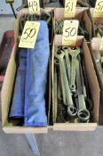 Lot-Wrenches and Wrench Sets in (2) Boxes