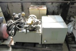 Lot-(1) Hydraulic Unit, (1) Transformer and (1) Daiken AKS54K Oil Cooler Chiller Unit on (1) Pallet