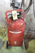 Craftsman 1.6-HP x 33-Gallon Capacity Vertical Tank Mounted Air Compressor, Portable, 1-PH