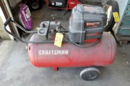 Craftsman Approx. 1.5-HP x 33-Gallon Horizontal Tank Mounted Air Compressor, Portable, Single Phase