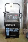 Sears Die Hard 125/60/20/2 Amp Capacity Battery Charger, Portable
