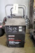 Sears 50/15/2 Amp Capacity Battery Charger, Portable
