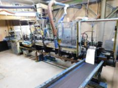 Klockner-Bartelt Pouch Packaging Machine, s/n 3365, with Programmable Limit Switch PLC Control
