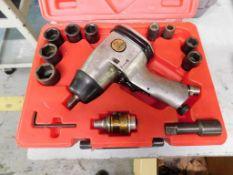 Milwaukee Pneumatic Impact Wrench Set