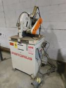 "Pistorious Model SC12P Non-Ferrous Cut-Off Saw, SN 251798, 12"" Blade, Pneumatic Head Feed, 3 HP, 3"
