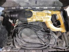 "Dewalt D25203 1"" Rotary Hammer with Case"