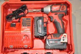 Milwaukee 2657-20 Cordless Impact Driver with Case