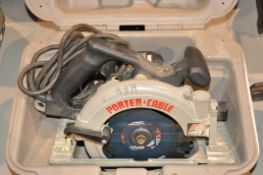 "Porter Cable 347 7 1/4"" Circular Saw with Case"
