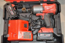 "Milwaukee 2864-20 Cordless Impact Wrench, 3/4"" Drive with Case"