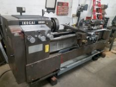 "Ikegai Model A20 Engine Lathe, 20"" X 60"" Capacity, Taper Attachment, 12"" 4-Jaw Chuck, Quick Change"