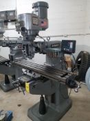 "Bridgeport Series I, 2 HP Vertical Mill, s/n BR284097, New 2002, 9"" X 48"" Table, Chrome Ways, Newall"