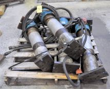 Lot-(4) IC Fluid Power Hydraulic Cylinders on (1) Pallet