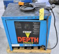 Exide Model D3E-18-1050, 36-Volts x 160-Amp Capacity Industrial Battery Charger, s/n WD89981, with