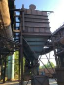 """Dust Collector 2, shaker type, 3 compartments and screw discharge, 26,000 cfm, 10"""" sp, garden city"""