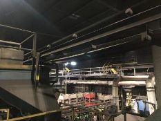 Conveyor CC2 long belt to hardening furnaces