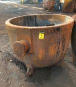 "Slag Pot 48"" diameter x 48"" deep, 3"""