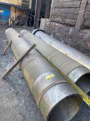 (3) Stainless Steel Retorts and (1) Broken Stainless Steel Retort