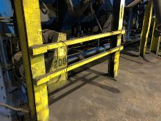 "Ascast shaker conveyor under bins 14"" x approx. 30' long"