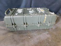 """Pelican Model 1780 Transport Case, Exterior: 45"""" x 25"""" x 16.5"""", Interior: 41"""" x 21.5"""" x 14.5"""""""