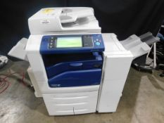 Xerox Work Centre 7845 Multifunction Color Copier/Printer, SN MX4345286, with Collator, Total