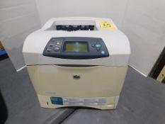 HP Laser Jet 4200 Printer, SN CNRXB80822, Total Impressions: 37,600