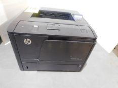 HP Laser Jet Pro 400/M401dne Printer, SN VNG3H02669