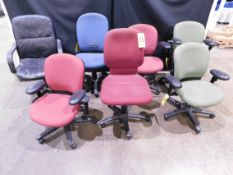 (7) Office Chairs