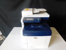 Xerox Work Centre 6605 Multifunction Color Copier/Printer, SN XL3620903, Total Impressions: 4,907,