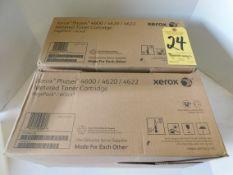 (2) Xerox 106R02318 Phaser 4600/4620/4622 Metered Toner Cartridges