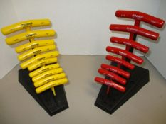 Bondhus T-Handle Hex Wrenches, Inch and Metric