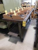 (2) 6' Shop Tables