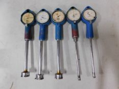 (5) Dial Bore Gages