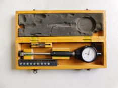 Mitutoyo Dial Bore Gage, Range 18 to 35 MM, Resolution, .01MM