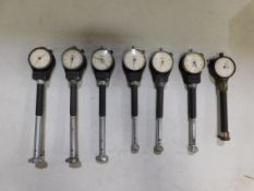 (7) Boice Dial Bore Gages