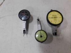 Test Indicators: B & S, Mitutoyo, Federal